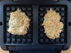Pflanzliche Rösti-Waffeln mit Frischkäse-Quark-Dip - OptiGrill-Rezepte - Gemüse-Rösti-Teig in einer Waffeleinlage Estás en el lugar correcto para recette de soupe potiron -