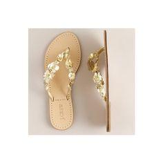 shoes - Flora capri sandals - J.Crew found on Polyvore