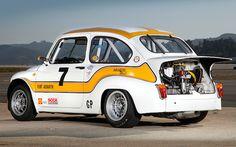 En el año 1956 debutaba el primer producto realizado porCarlo Abarthsobre la base de la carrocería de un Fiat 600. Pero en 1970 fue presentada su ultima evolución: elAbarth 1000 TCR Gruppo 2 que pesaba 568 kg y tenía un motor de 1.0 litro que producía 112 cv.