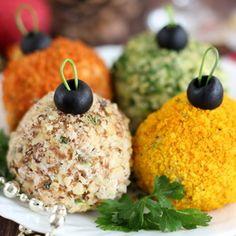 Салат «Новогодние шарики»
