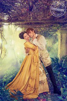 Outlander: Breathtaking Photos of Sam Heughan and Caitriona Balfe
