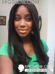 Rpgshow black hair wigs #blackhair