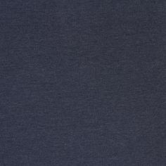 Dark Denim Heather Solid Cotton Spandex Knit Fabric - Gorgeous top quality medium weight cotton spandex knit in an trend dark denim heather effect color. The perfect fabric staple! True medium weight with a soft hand, good 4 way stretch, and nice recovery.  ::  $6.75
