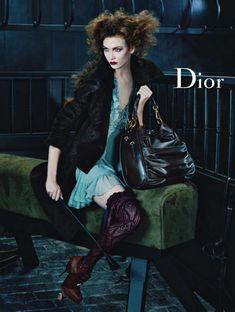 Karlie Kloss Dior ad