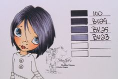 Heather's Hobbie Haven: Hair Color 63 - Copic Markers...