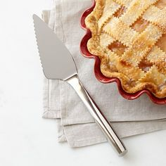 Pie Server: Williams-Sonoma Stainless-Steel Prep Server Pie Server #williamssonoma