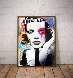 poster street art 4 - 30x40cm