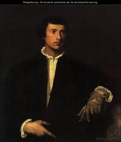 Titian - Man with a Glove