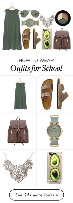 back to school by gabrielledixon on polyvore featuring gap travelsmith casetify ray ban timex and smashbox