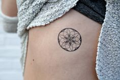 Geometric Temporary Tattoos Sacred Geometry by MerakiLabbe