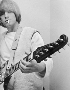 Brian Jones founding member and guitarist for the Rolling Stones The Rolling Stones, Brian Jones Rolling Stones, Keith Richards, Mick Jagger, Freddie Mercury, Beatles, Gibson Firebird, Rollin Stones, Moves Like Jagger