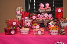 The Autocrat: Pink & Zebra Baby Shower