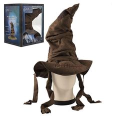 Universal Studios Wizarding World Harry Potter Animated Sorting Hat New with Box Harry Potter Accessories, Harry Potter Items, Harry Potter Ron, Harry Potter Cosplay, Harry Potter Merchandise, Harry Potter Decor, Universal Studios, Universal Orlando, Harry Potter Halloween Costumes