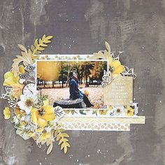 Five Tips for Layering Paper with Video Tutorial using the gorgeous Kaisercraft Golden Grove Collection by Alicia McNamara Heritage Scrapbooking, Scrapbooking Layouts, Photo Journal, Art Journal Pages, Baby Scrapbook, Scrapbook Cards, Smash Book Pages, Baby Album, Layout Inspiration