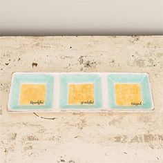 Kitchen Gifts - Trio Serving Tray (Christian Gift)