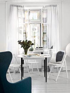 faux window landscape digitally printed curtains, brilliant!