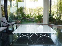 'Cale Painted Steel Coffee Table by MODLOFT. @2Modern'