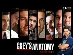 Desktop Wallpaper-s > TV Shows > Grey's Anatomy (TV Series), 2005, Patrick Dempsey as Derek
