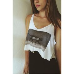 Rare brandy Melville the end tank top NWT Brandy Melville Tops Tank Tops
