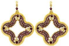 Marrakesh Earrings Kit - Beads Gone Wild  - 1