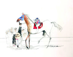 The Kentucky Derby is Decadent and Depraved (Hunter S. Thompson and Ralph Steadman)