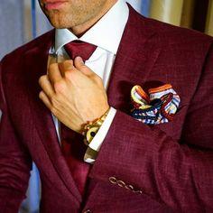 men's suits – High Fashion For Men High Fashion Men, Suit Fashion, Mens Fashion, Fashion Clothes, Gentleman Mode, Gentleman Style, Mode Masculine, Mens Attire, Mens Suits