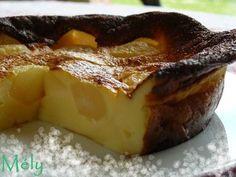 Clafoutis aux poires (rapide & excellent) - Chaudron Pastel