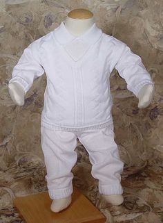 d520d67a4 Hayward - Baby Boy Blessing Outfits LDS 3 Piece CKNIT2. Boy Christening  OutfitBaby ...