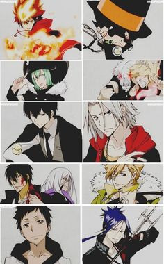 Katekyo Hitman Reborn - The only thing major this picture is missing is Byakuran. Where's the love for him?