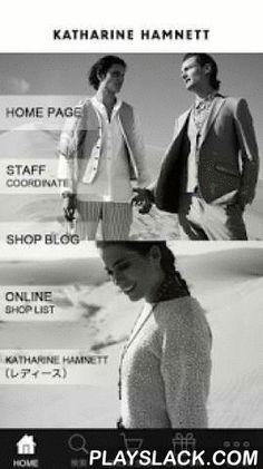 KATHARINE HAMNETT  Android App - playslack.com , ファッションブランド『KATHARINE HAMNETT(キャサリン ハムネット)』公式アプリ。 お得な情報やクーポンをプッシュ通知でお知らせしたり、スタッフコーディネート、ショップブログ、新作アイテムからお買い物まで、KATHARINE HAMNETTの情報が満載です。▼STAFF COORDINATEスタッフによるコーディネートスナップを更新。気になる商品があればそのまま該当の商品に遷移、お友達にシェアして教えてあげることもできます。▼SHOP BLOG各ショップから最新情報をお届け。お気に入りのショップブログや人気のブログを閲覧頂けます。▼WEB STORE新作アイテムのチェックや、お買い物がいつでも可能。公式オンラインショップです。▼COUPONアプリ限定のお得なクーポンをご提供。ショップでご利用頂けます。※クーポンが発行されない時期もあります。▼検索公式オンラインショップ内をアイテムやキーワードで検索して頂けます。▼SHOP…