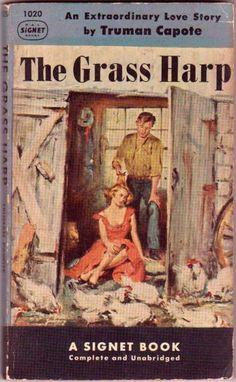 The Grass Harp, Truman Capote, Vintage Paperback Book, Signet #1020, #truman #capote #vintage