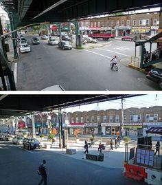 Interim Public Plazas | NACTO