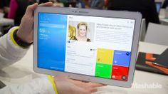 Samsung's big-screen Android tablets, the Galaxy Note Pro and Tab Pro, will be available Feb. 13.