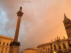 Rainbow in Rome, 07:35 am, 1st February 2015