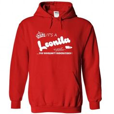 Its a Leonila Thing, You Wouldnt Understand !! Name, Ho - #mothers day gift #photo gift. GET IT => https://www.sunfrog.com/Names/Its-a-Leonila-Thing-You-Wouldnt-Understand-Name-Hoodie-t-shirt-hoodies-5581-Red-29592131-Hoodie.html?68278