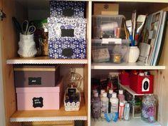 Antes e depois do armário