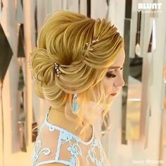 Easy Braided Hair Sytles – Famous Last Words Braided Hairstyles Updo, Up Hairstyles, Wedding Hairstyles, Hair Style Vedio, Bridal Hair Tutorial, Competition Hair, Elegant Wedding Hair, Hair Wedding, Hair Up Styles