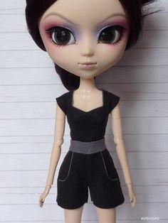 Overall for Pullip dolls. por Kosucas en Etsy