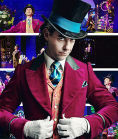 Christian Borle as Willy Wonka