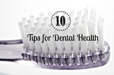 tips for dental health