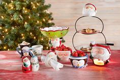 #blokker #kerst #servies #kerstservies #etagere #mok #chocoladefondue #fondue