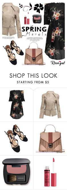 """""""ROSEGAL"""" by helenevlacho ❤ liked on Polyvore featuring Bare Escentuals, Charlotte Russe and rosegal"""