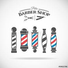 Vecteur : Barber shop pole