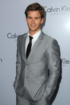 I like a cute guy in a suit.