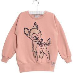 Disney Bambi Sweatshirt  – Wheat.dk Disney Sweatshirts, Bambi, Graphic Sweatshirt, Sweaters, Fashion, Blouse, Moda, Fashion Styles, Sweater