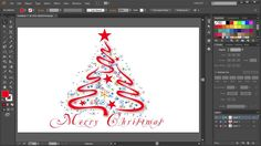 How to Draw a Christmas Tree in Adobe Illustrator | 2