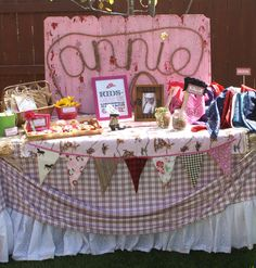 Photo 2 of 31: Country, Cowgirl, Pony / Birthday Annies 6th Birthday Pony Party | Catch My Party
