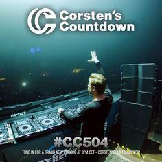 Corsten's Countdown  #504  http://www.musiceternal.com/News/2017/Corstens-Countdown-Episode-504  #Musiceternal #TranceMusic #FerryCorsten #CorstensCountdown #Trance