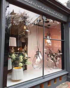 A pic of our latest window display #oliveandthefox