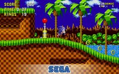 The Sonic game that started it all is now free-to-play and optimized for mobile devices! Race at lightning speeds across seven classic zones as Sonic the Hedgehog. Run and spin through loop-de-loops as you collect rings and defeat enemies on your mis Sonic The Hedgehog, Hedgehog Game, Sonic Dash, Sonic Boom, Free Sonic, Playstation, Beast, Ios, Bedrooms
